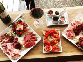 apéritif, cuisine italienne