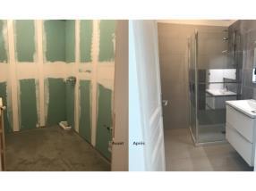Aménagement et rénovation de salle de bains