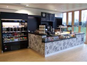 Comptoir vente  Coffee Starbuck