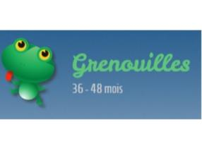 Grenouilles 36 - 48 mois