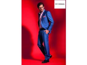 Costume homme bleu, Roy Robson