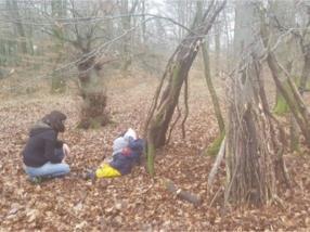 Sortie en forêt, crèche