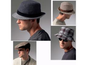 Bérets & chapeaux à carreaux