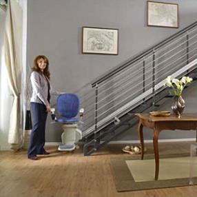 Monte escalier droit
