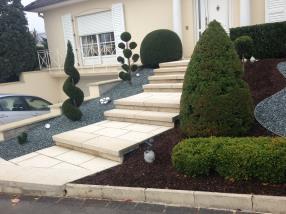 Escaliers, rampe d'accès...