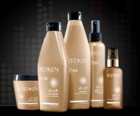 Soins All Soft REDKEN pour cheveux secs & fragiles