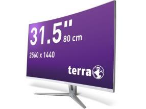 TERRA LED 3280W silver/white CURVED DP/HDMI
