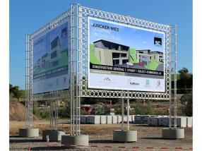 Panneaux pour chantiers et évènements