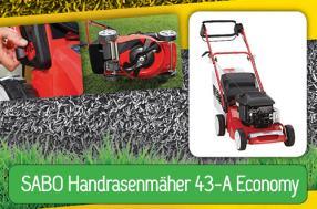 SABO Handrasenmäher 43-A Economy