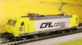 CFL Cargo BR185 grün/grau