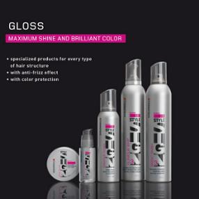 Coiffure Créativ Beaufort Luxembourg Goldwell Style gloss
