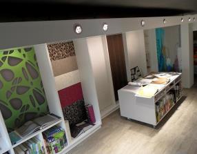 Décoration d'intérieur - Nouveau showroom