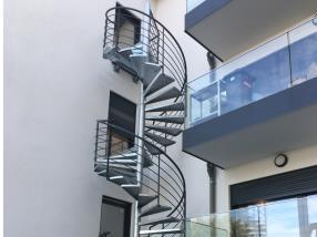 Escaliers extérieurs
