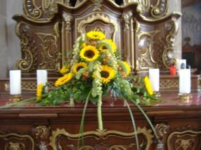 Kirchendeko - Altarschmuck