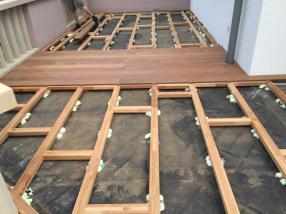 Construction terrasse en bois