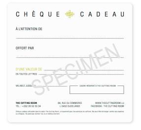 chèque cadeau coiffeur coiffure luxembourg