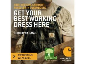 Revendeur officiel de produit Carhartt