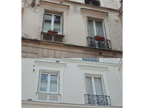 Nettoyage de façade en pierre