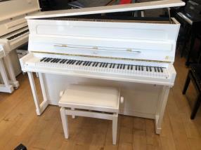 Piano droit IBACH 116 laqué blanc