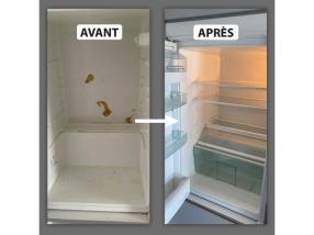 Nettoyage frigo