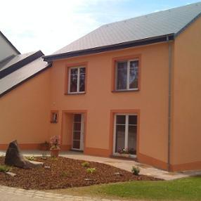 SPM Bâtiment Dudelange Luxembourg peinture facade