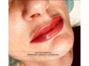 Maquillage permanent lèvres
