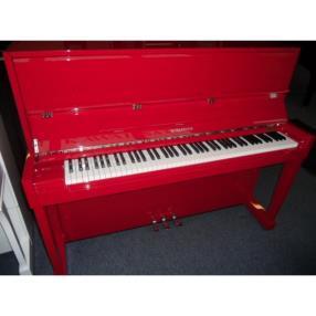 Piano Schaeffer 118C rouge ferrari