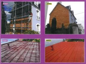 Peinture de toitures - Bardage