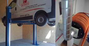 Equipement pour garage