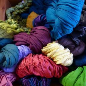 Laine à tricoter Fair Trade