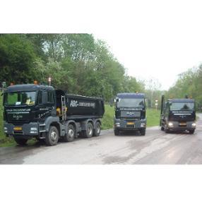 ABC Containerdienst Route du Vin Mertert Luxembourg camion