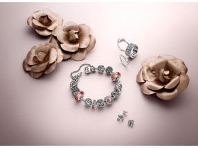 Bracelet, boucles d'oreilles et bague Luminous
