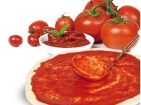fond de pizza tomaté surgelé