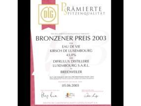 Bronzener Preis