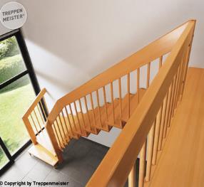 Einzigartiges Treppen-System
