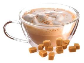 capuccino caramel, lavazza