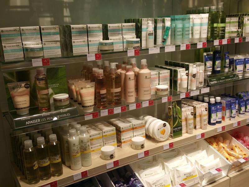 Institut de beauté et produits cosmétiques