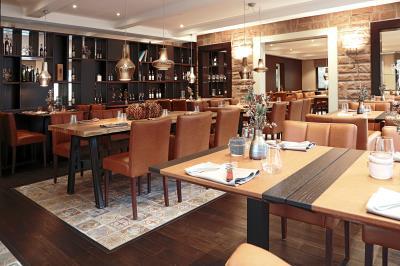 Hotel Restaurant Hausbrauerei Blesius Garten Grill Food