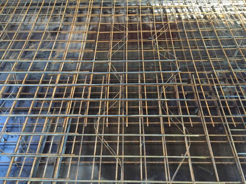 Raillage pour dalle 12