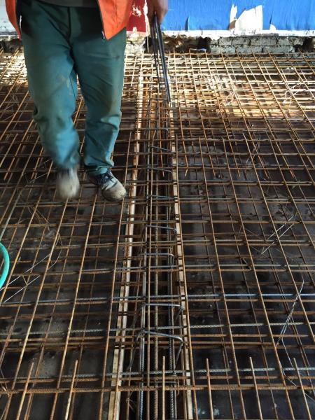 Raillage pour dalle 10