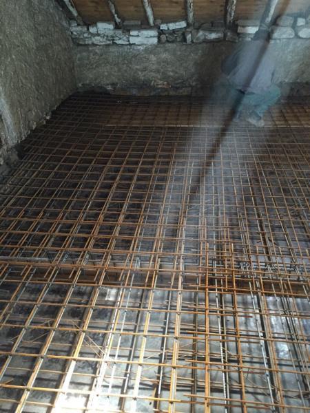 Raillage pour dalle 8