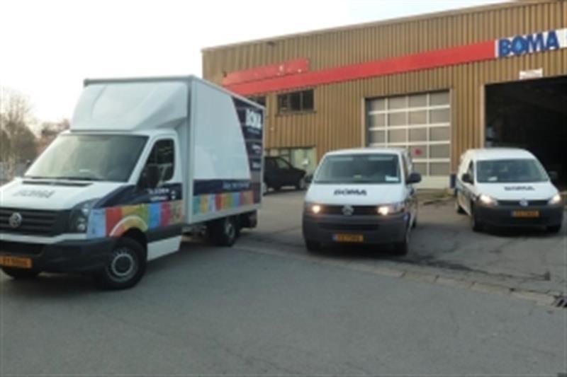 Notre magasin et nos véhicules