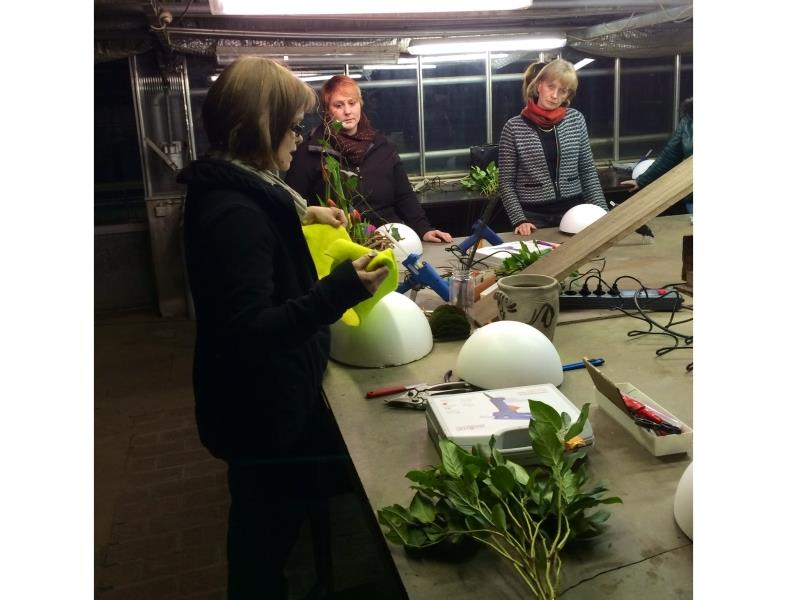 Cours dispensés par notre fleuriste Caroline Steichen