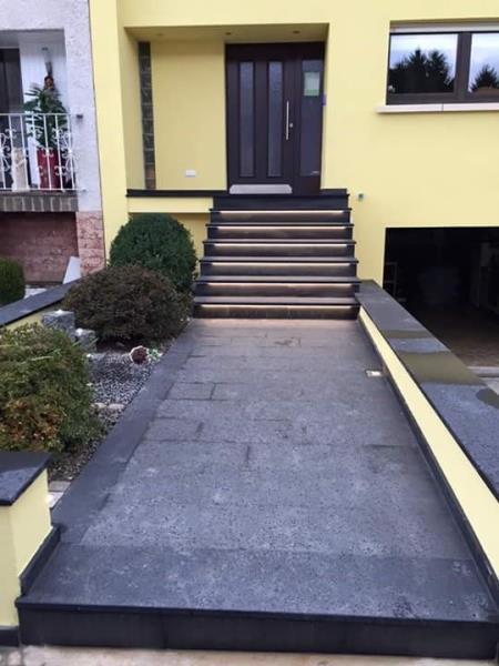 RubanLed escalier extérieur