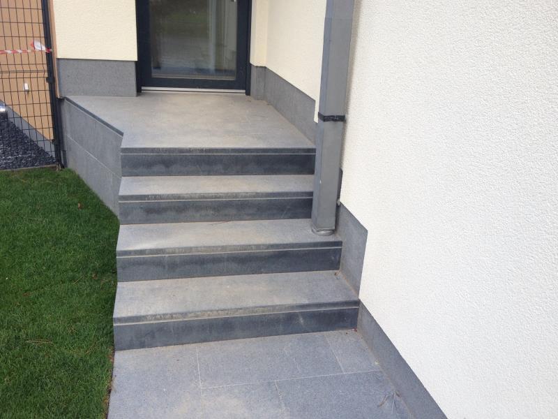 Escalier en granit