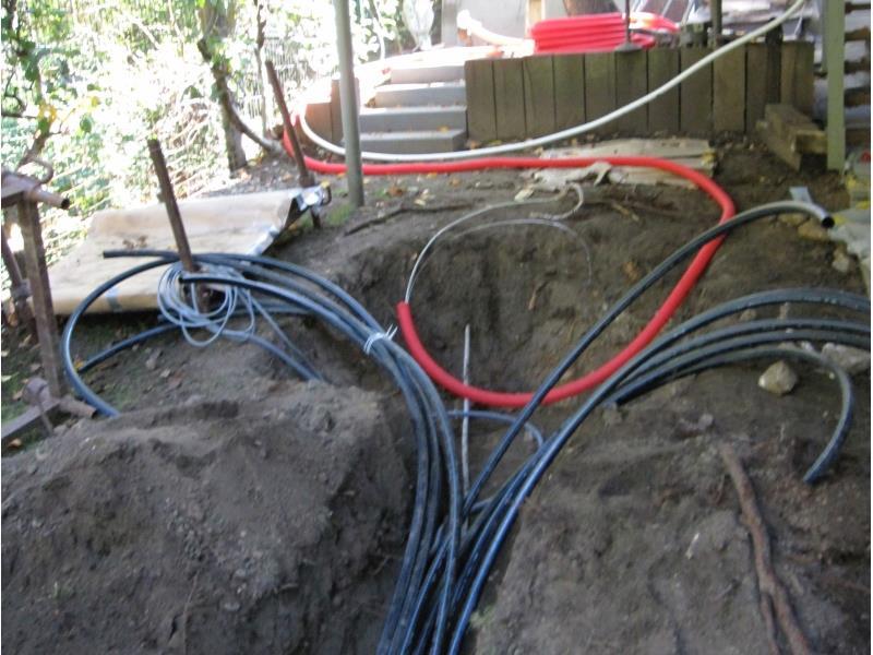 Installation d'un système d'arrosage