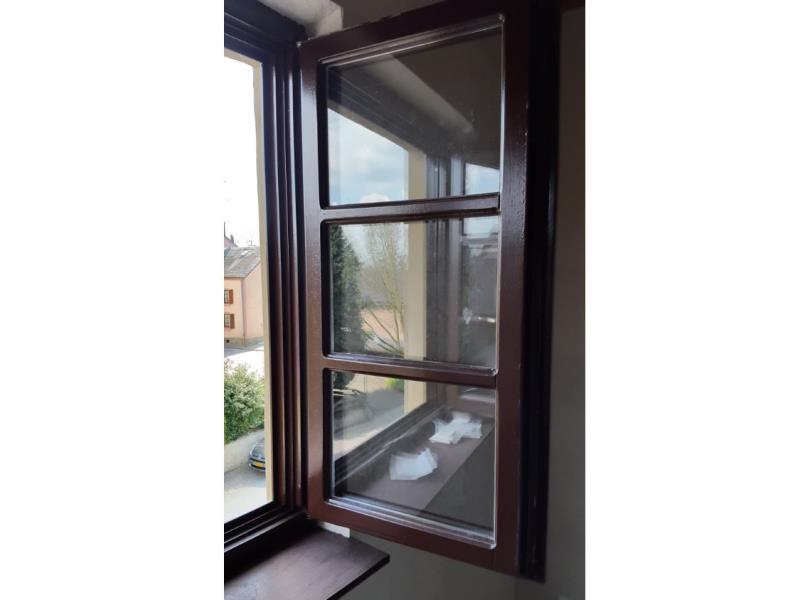 Peinture des fenêtres