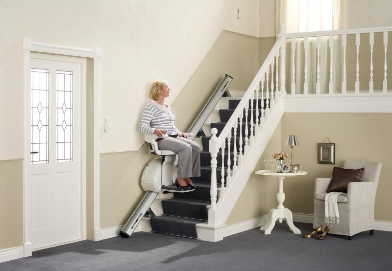 Monte-escaliers droits Home Glide 3