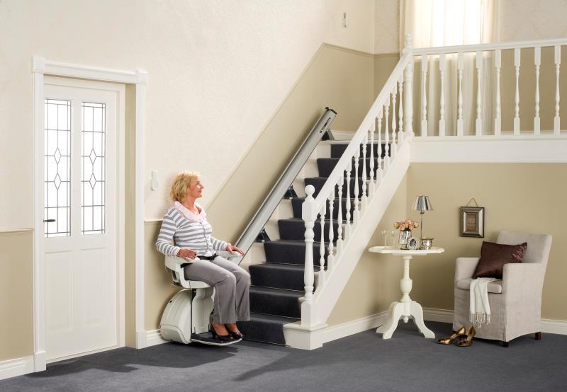Monte-escaliers droits Home Glide 1