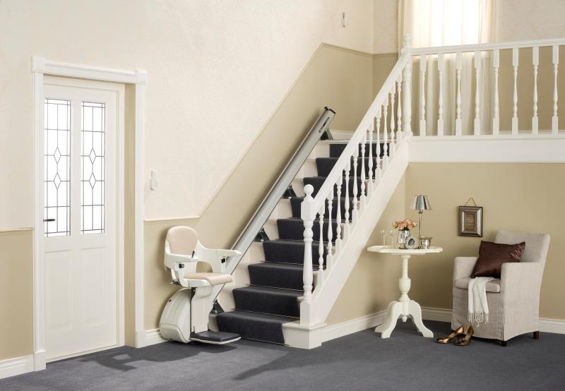 Monte-escaliers droits Home Glide 11